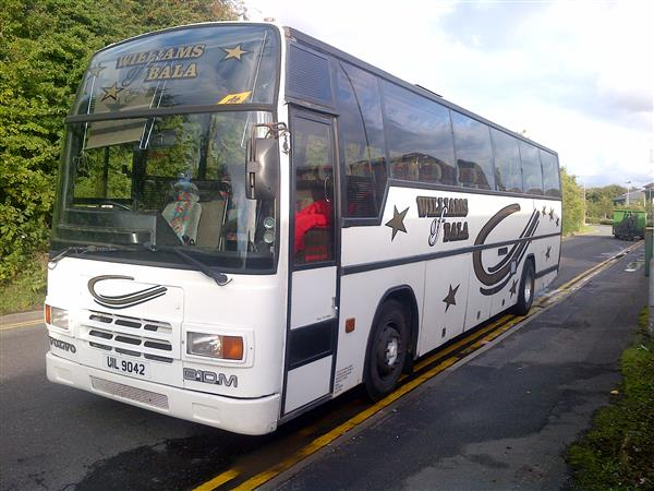 £3500 (now sold) 1990 VOLVO B10m PLAXTON PARAMOUNT 57 SEATER COACH
