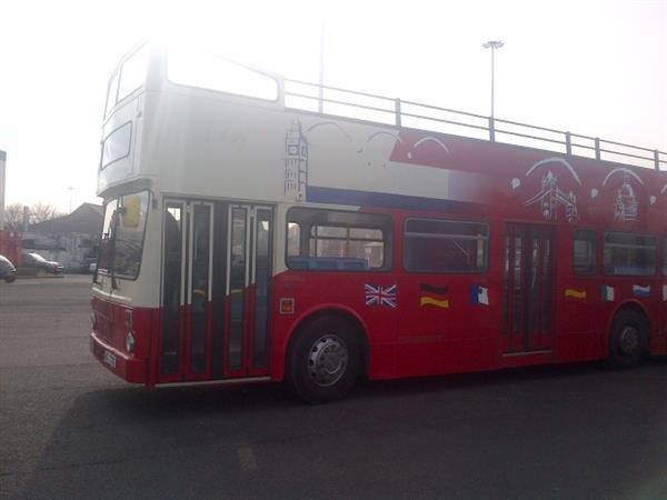MCW Metrobus ideal for export  low emission, under 4.00 metres tall