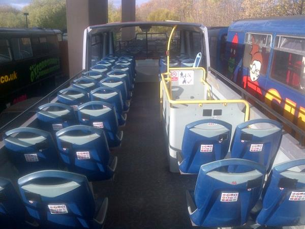 1999 DAF SEMI OPEN TOP BUS 65 seater