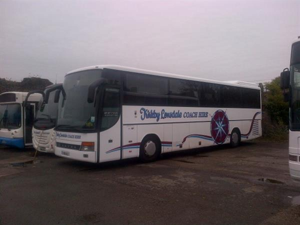 Fantastic selection of Setra coaches