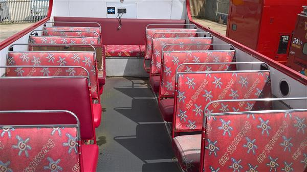 1988 Leyland Olympian semi open top bus