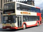 2000 Dennis Trident 87 seat bus with seat belts V436DRA