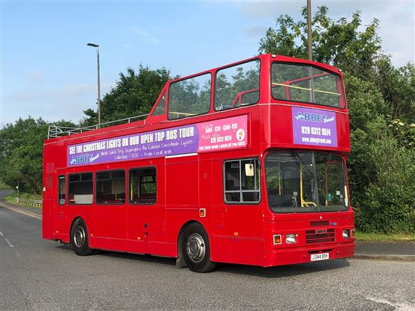 1992 Leyland Olympian Open Top sightseeing bus