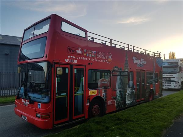2001 Volvo open top sightseeing bus Worldwide delivery