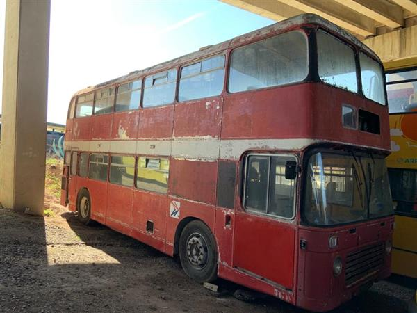 1973 Bristol VR double decker bus