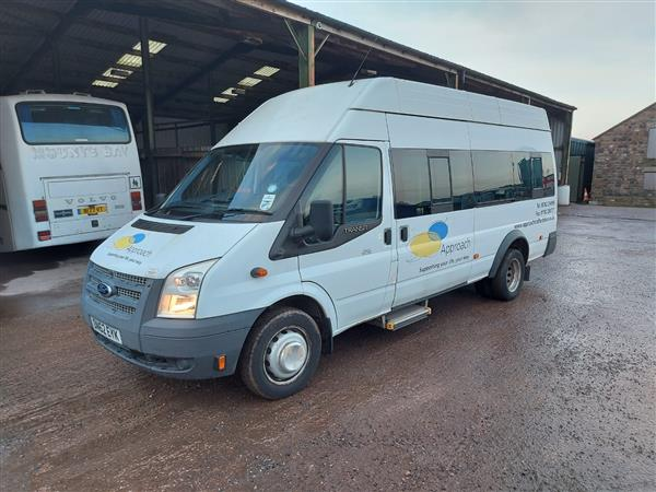 2012 Ford Transit wheelchair accessible minibus
